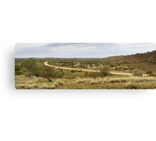 Amata road panorama Canvas Print