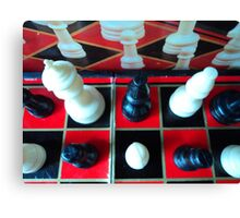 red and black tournament... Canvas Print