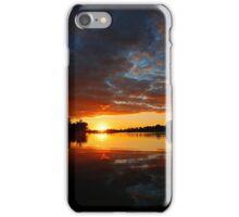 Fall In Sun Set iPhone Case/Skin