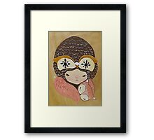 Willow & Foxy Framed Print