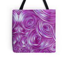 Swirly Whirly (Pink) Tote Bag