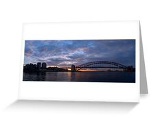 Point to Point - Sydney Harbour & Bridge - The HDR Experience Greeting Card