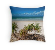 Adder Rock North Stradbroke Island Australia Throw Pillow