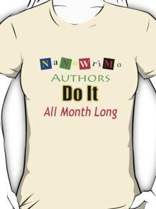 nanowrimo t T-Shirt