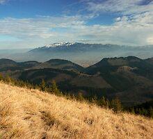 Landscape- Bucegi-Leaota Mountains by julien  oncete