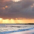Deadman's Beach Nth Stradbroke Is. Australia by Beth  Wode