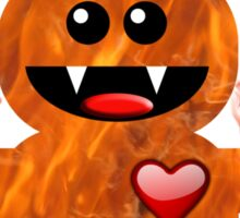 ON FIRE FOR YOU ! Sticker