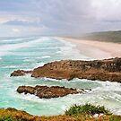 Point Lookout Nth Stradbroke Island Australia by Beth  Wode
