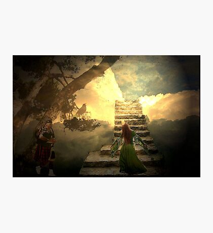 Stairways to heaven after Led Zeppelin Photographic Print
