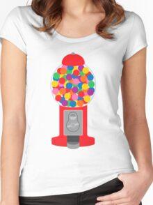 Gumball Machine Women's Fitted Scoop T-Shirt