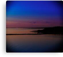 Sunset in Hiiumaa Canvas Print