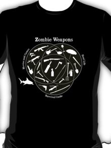 Zombie weapons T-Shirt