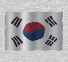 Korea Flag One Piece - Short Sleeve