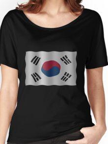 Korea Flag Women's Relaxed Fit T-Shirt