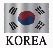 Korea Flag Kids Clothes