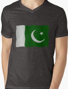 Pakistani flag Mens V-Neck T-Shirt