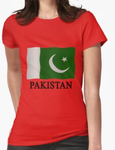 Pakistani flag Womens Fitted T-Shirt