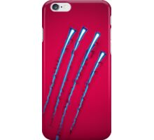 Power Claws on Red iPhone Case/Skin
