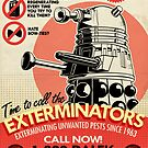 Dalek Pest Exterminations  by Tom Trager