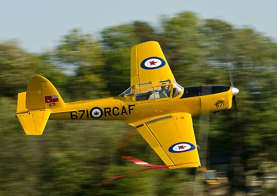 1946 - DHC 1 Chipmunk  by Barry Culling