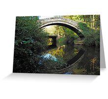 Beggars Bridge, Glaisedale, North York Moors  Greeting Card