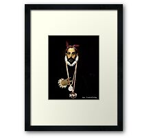 West coast greco Street Art Framed Print