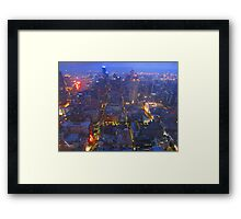 In the midst of the Storm Framed Print