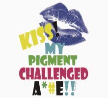 KISS!! my pigment challenged ..... by Dee-Karma-Arts