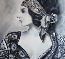 Gypsy woman by MadeleineKotze