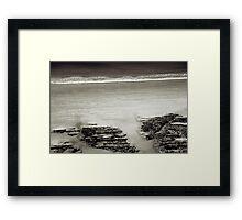 Cap Frehel Framed Print