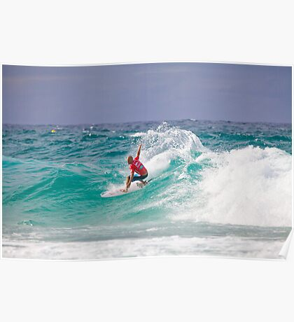 Quiksilver Pro 2011 Kelly Slater Poster