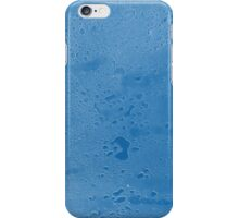 Blue Water droplets iPhone Case/Skin