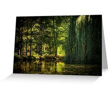 The Quiet Pond Greeting Card