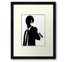 YOUNG PROFESSIONAL  Framed Print