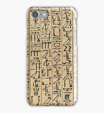 Papyrus iPhone Case/Skin