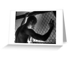 Cage Greeting Card