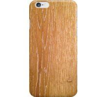 Wood - warm iPhone Case/Skin