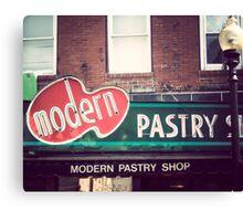 Boston's Modern Pastry Shop Canvas Print