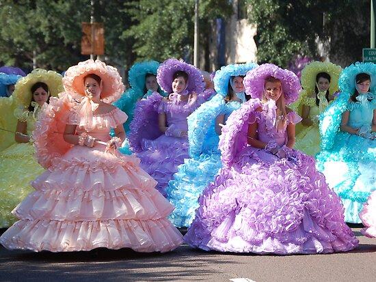Azalea Trail Maids of Mobile, Alabama by zpawpaw