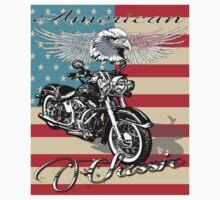 Classic Harley Hog by TowlerArt