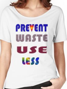 Waste. Women's Relaxed Fit T-Shirt