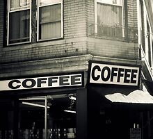 Boston North End Coffee Shop by JillianAudrey