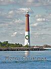 Barnegat Lighthouse - New Jersey - Christmas Card by MotherNature
