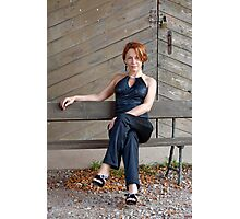 Beauty adult woman Photographic Print