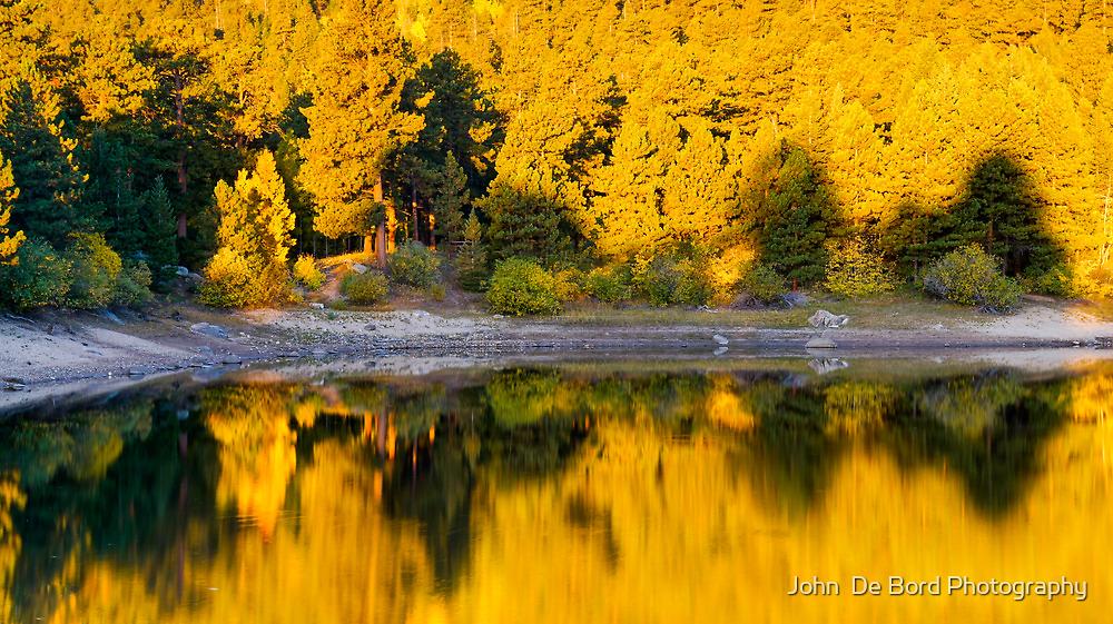 Autumn Golden Hour by John  De Bord Photography