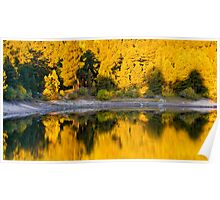 Autumn Golden Hour Poster