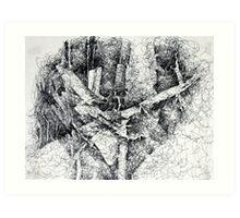Fallen Trees 2 Art Print