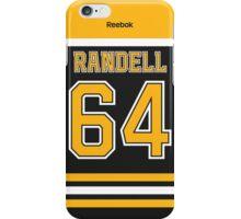 Boston Bruins Tyler Randell Jersey Back Phone Case iPhone Case/Skin