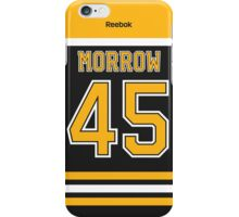 Boston Bruins Joe Morrow Jersey Back Phone Case iPhone Case/Skin