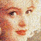 """""""Marilyn Monroe - Mosaic #6"""" phone by Michelle Lee Willsmore"""